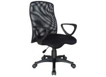 Kancelářská židle W-91, černá