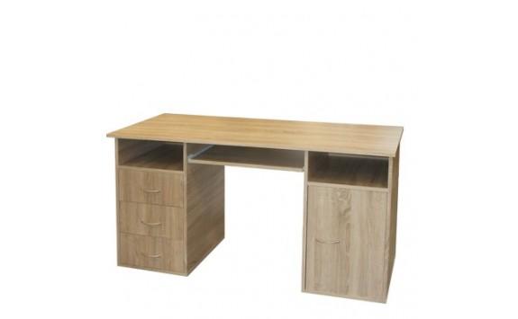 Psací PC stůl z lamina IA50194, dub Sonoma