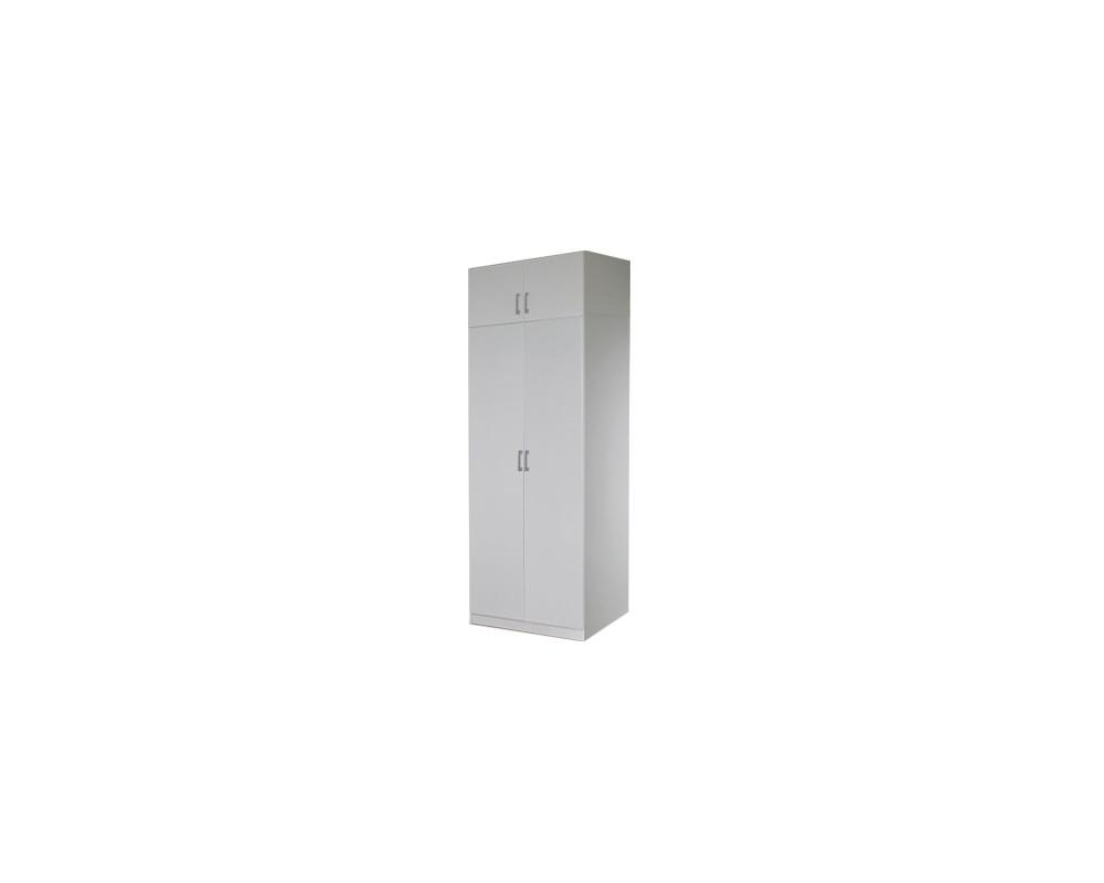 Šatní skříň dvoudveřová IA21520, bílá
