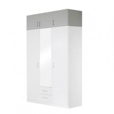 Nástavec šatní skříně IA21535, bílá