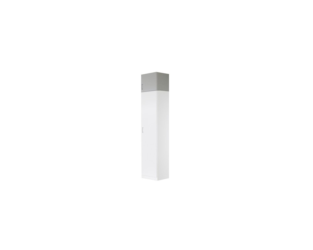 Nástavec šatní skříně IA21515, bílá