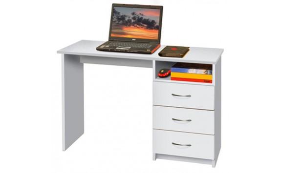 Psací PC stůl IA44B, bílý
