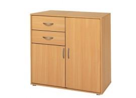 Komoda-prádelník IA1504A, lamino buk