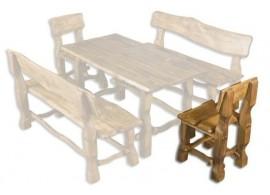 Zahradní židle - křeslo Drew-101, masiv olše