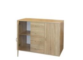 Komoda-prádelník IA51507, lamino dub
