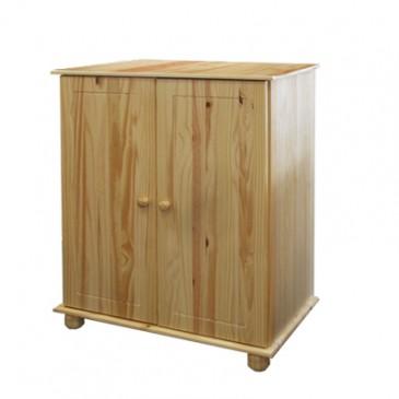 Komoda - prádelník IA8017, masiv borovice