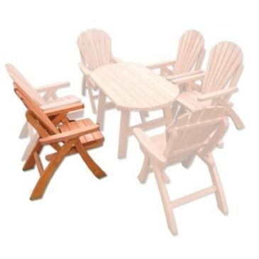 Zahradní židle - křeslo Drew-107, masiv smrk