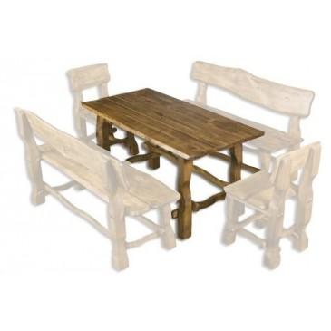 Zahradní stůl Drew-101, masiv olše