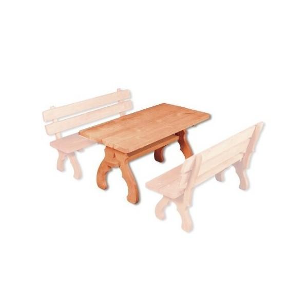 Zahradní stůl Drew-106, masiv smrk
