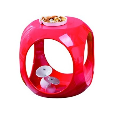 Moderní konferenční stolek IA020, červený