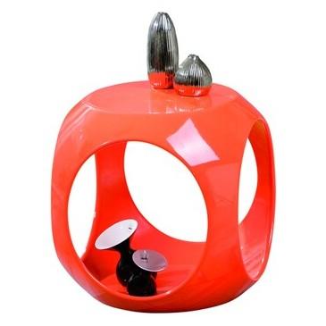 Moderní konferenční stolek IA040, oranžový
