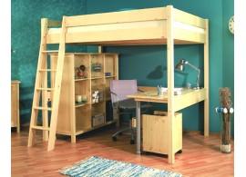 Patrová postel Ráchel s žebříkem 230/31 140x200 cm