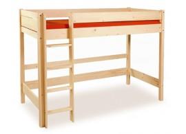 Patrová postel - horní spaní Bella B0388, masiv smrk