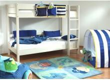 Dětská poschoďová postel Keyly B0383, bílá