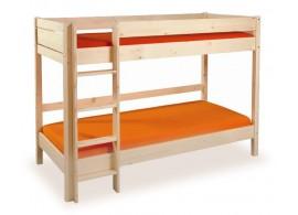 Dětská poschoďová postel Keyly B0384, masiv smrk