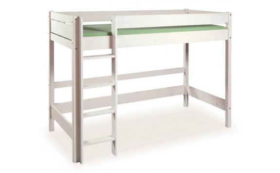 Dětská patrová postel - horní spaní Bella B0387, bílá