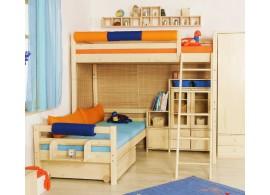 Poschoďová postel - palanda elko DOMINO D908