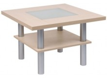 Konferenční stolek 75x75 - KR126, lamino