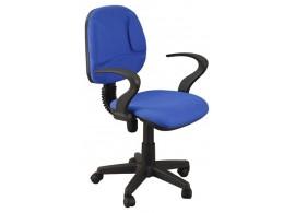 Kancelářská židle na kolečkách IAK8, modrá