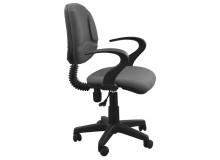 Kancelářská židle s područkami IAK9, šedá