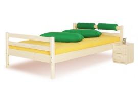Dětská postel - jednolůžko DOMINO bez zábrany D901, masiv smrk