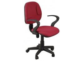Otočná židle IAK10, červená