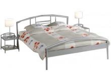 Kovová manželská postel - jednolůžko IA3022, 140x200