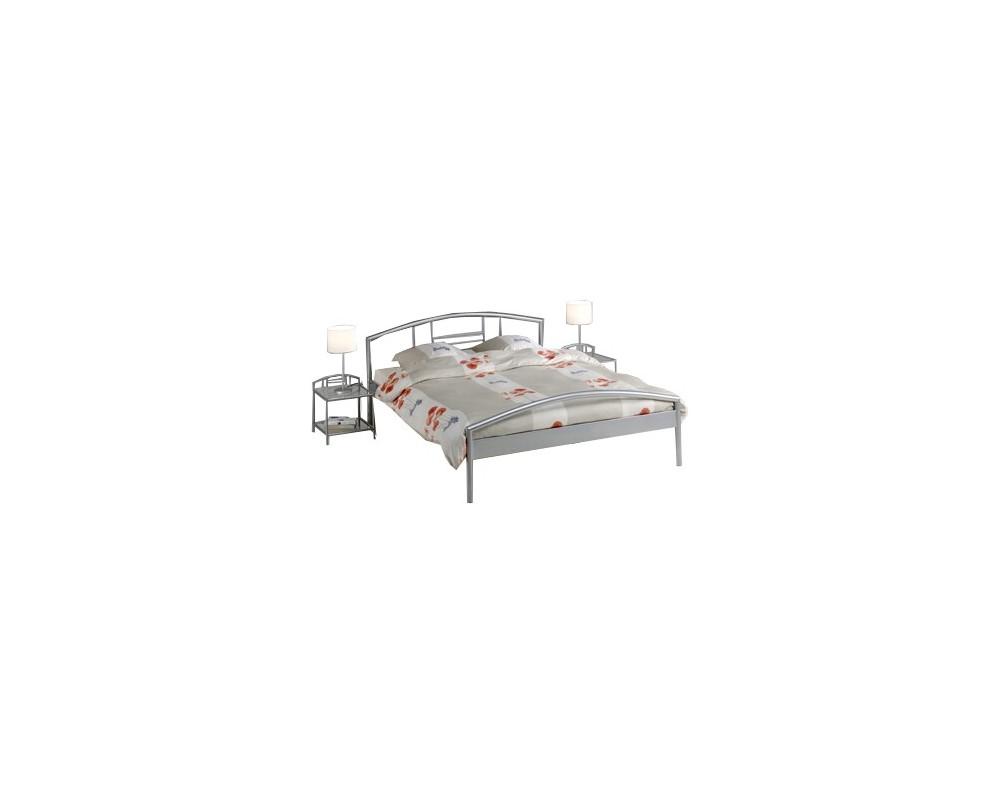 Kovová manželská postel - dvoulůžko IA3023, 160x200