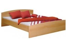 Manželská postel - dvojlůžko 180x200 IA342A, lamino buk