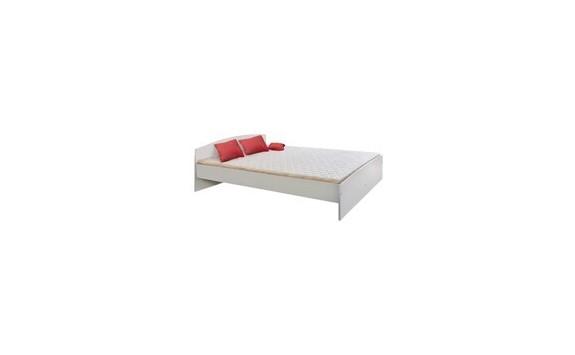 Manželská postel - dvojlůžko 180x200 IA342B, lamino bílé