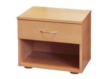 Noční stolek k posteli IA140A, lamino buk
