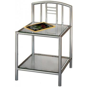 Kovový noční stolek IA3020
