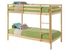 Dětská poschoďová postel - palanda IA830, z masivu smrku