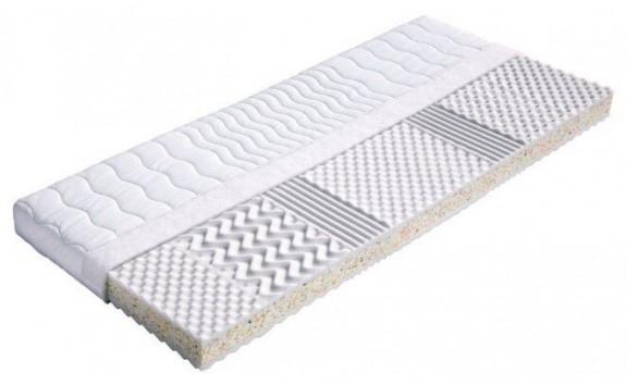 Zdravotní sendvičová matrace NEAPOL 80x185, PUR pěna