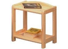 Noční stolek IA810, masiv smrk