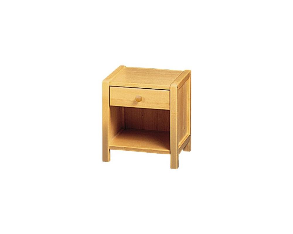 Noční stolek IA812, masiv smrk