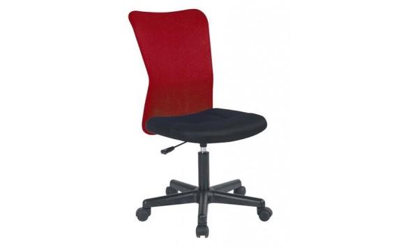 Židle k psacímu stolu IAK61, červená-černá