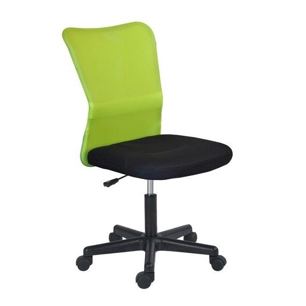 Židle k počítači IAK63, zelená-černá