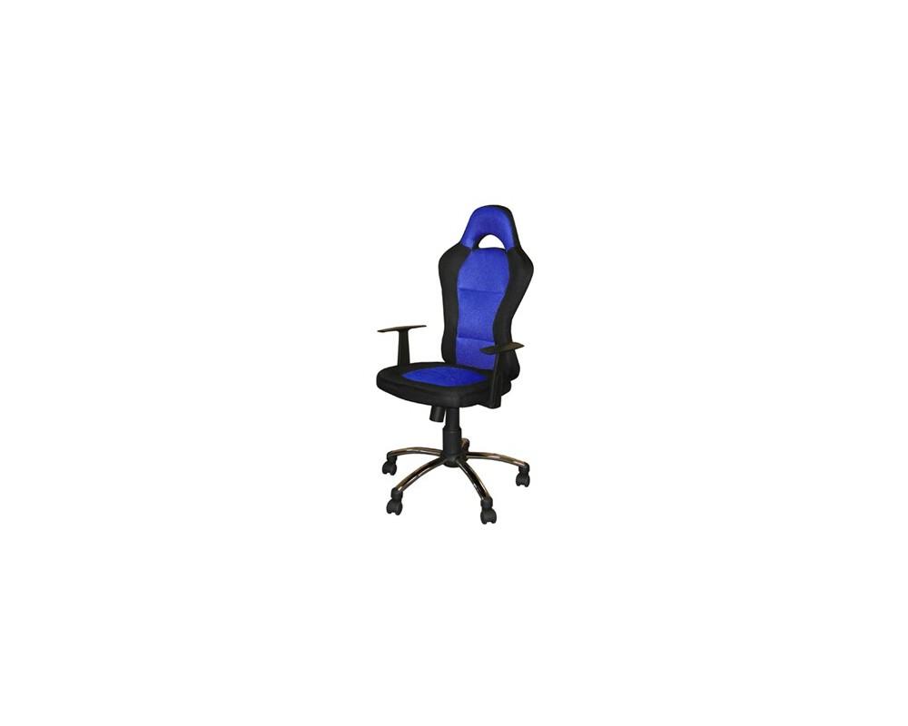 Otočná židle IAK80, modro-černá