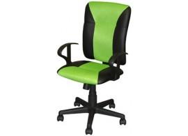 Kancelářské křeslo IAK86, zeleno-černá