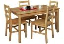 Jídelní stůl IA8848, masiv borovice, 118x75 cm