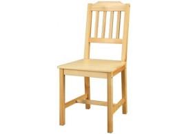 Jídelní židle do kuchyně IA866, masiv borovice