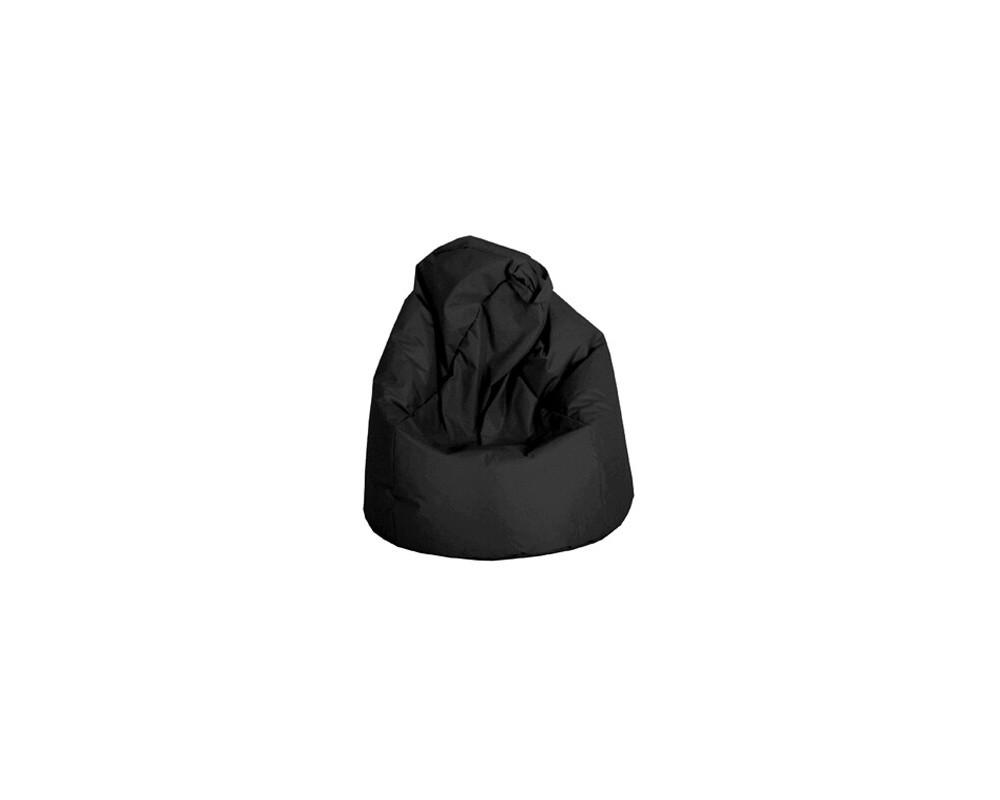 Sedací vak hruška IAV7, černý