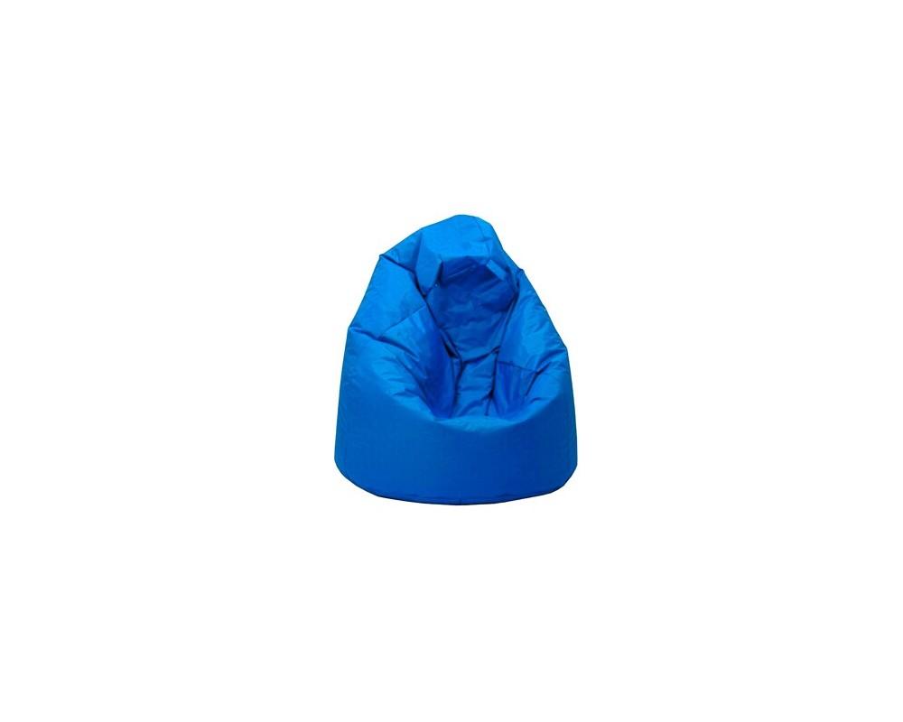 Sedací vak hruška IAV14, modrý