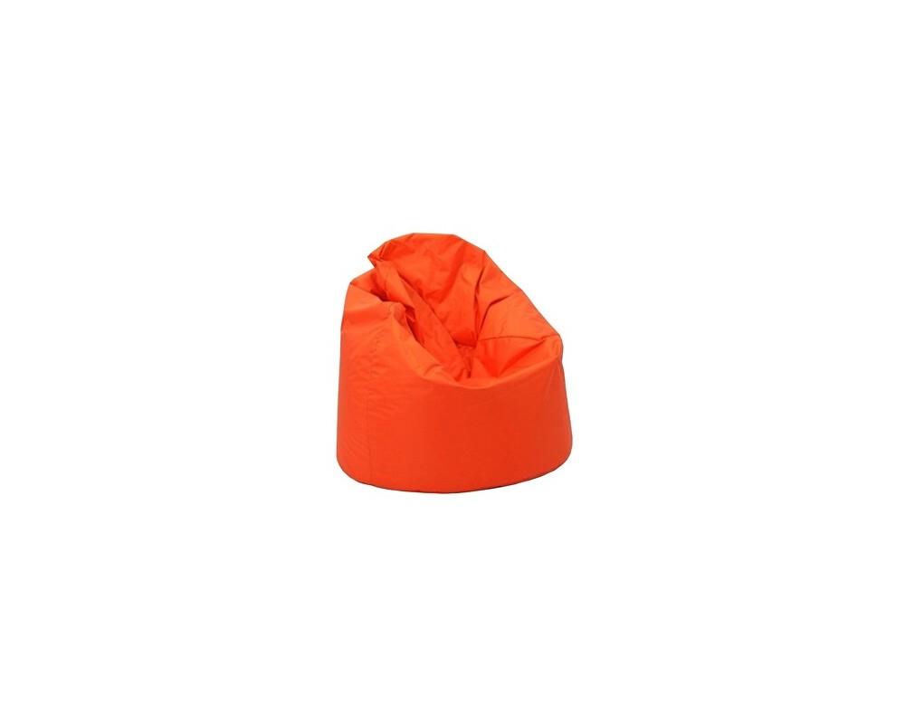 Sedací vak hruška IAV16, oranžový