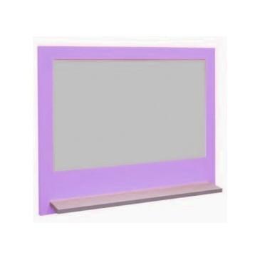 Tabule na stěnu CR111, fialovo-bílá