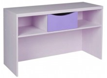 Skříňka na boxy CR119, fialovo-bílá