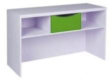 Skříňka na boxy CR119, zelená-bílá