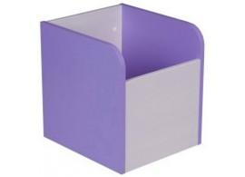 Box na hračky CR120, fialovo-bílá