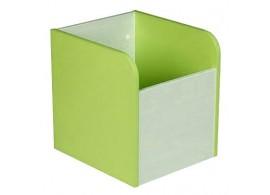 Box na hračky CR120, zelená-bílá
